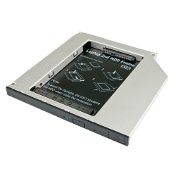 Adattatore per Hard Disk SATA in slot slim per CD/DVD/BD (alti fino a 9,5mm)